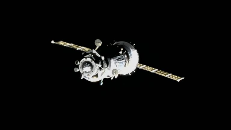 ISS Crew Reparks Soyuz, Clearing Port For Next Ship - Aviation Week