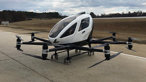 two-seat air taxi