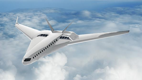 fuel-cell-powered airliner