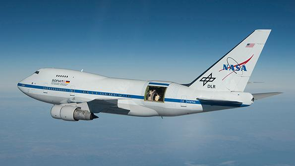 space observation aircraft