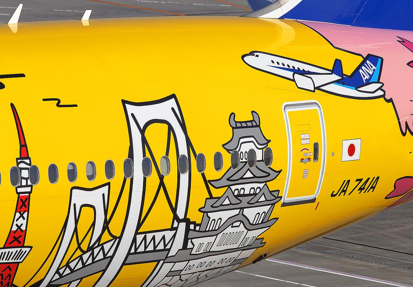 Special Liveries: Eye-Catching Designs