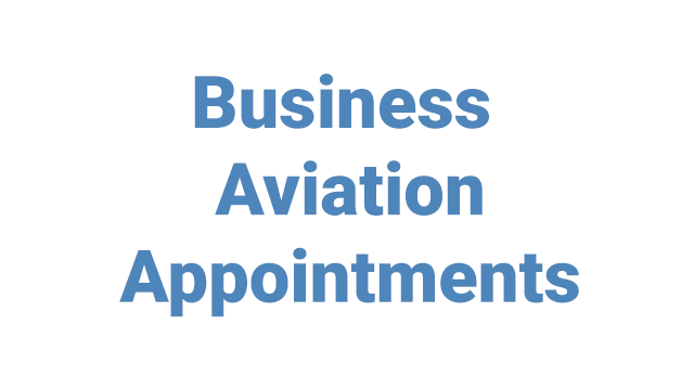 Business Aviation Appointments promo image