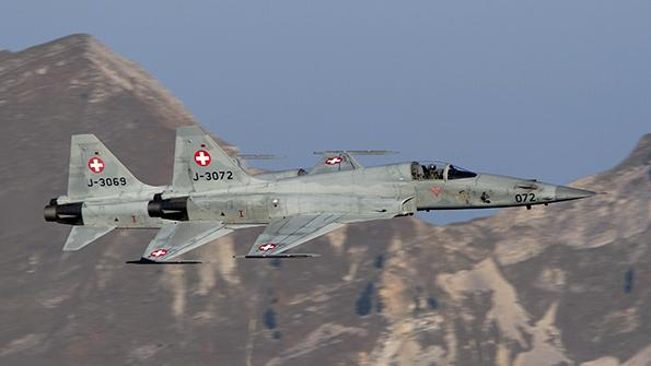 Swiss fighter aircraft