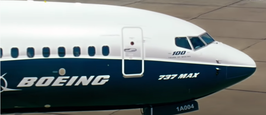Boeing MAX aircraft