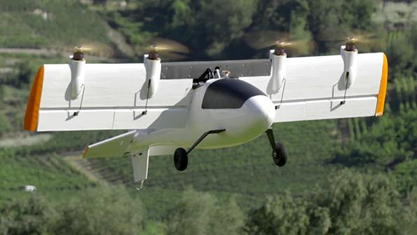 Dufour tiltwing eVTOL demonstrator