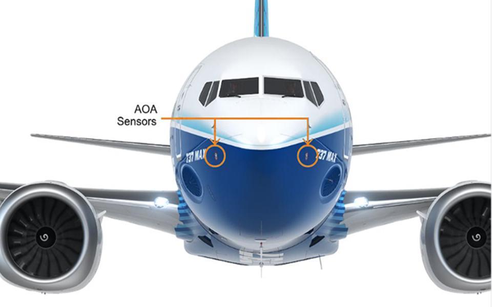 AOA sensors MAX 737