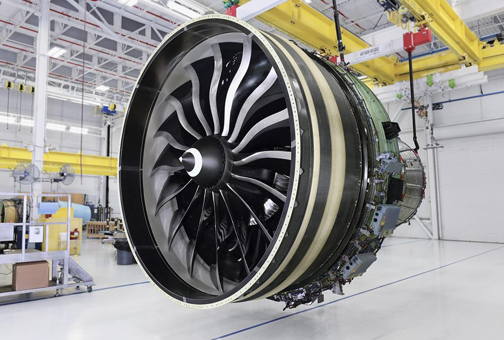 GE9X production engine