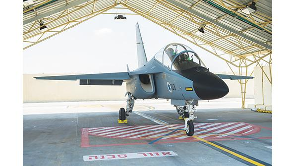 Israeli Air Force M-346 trainer