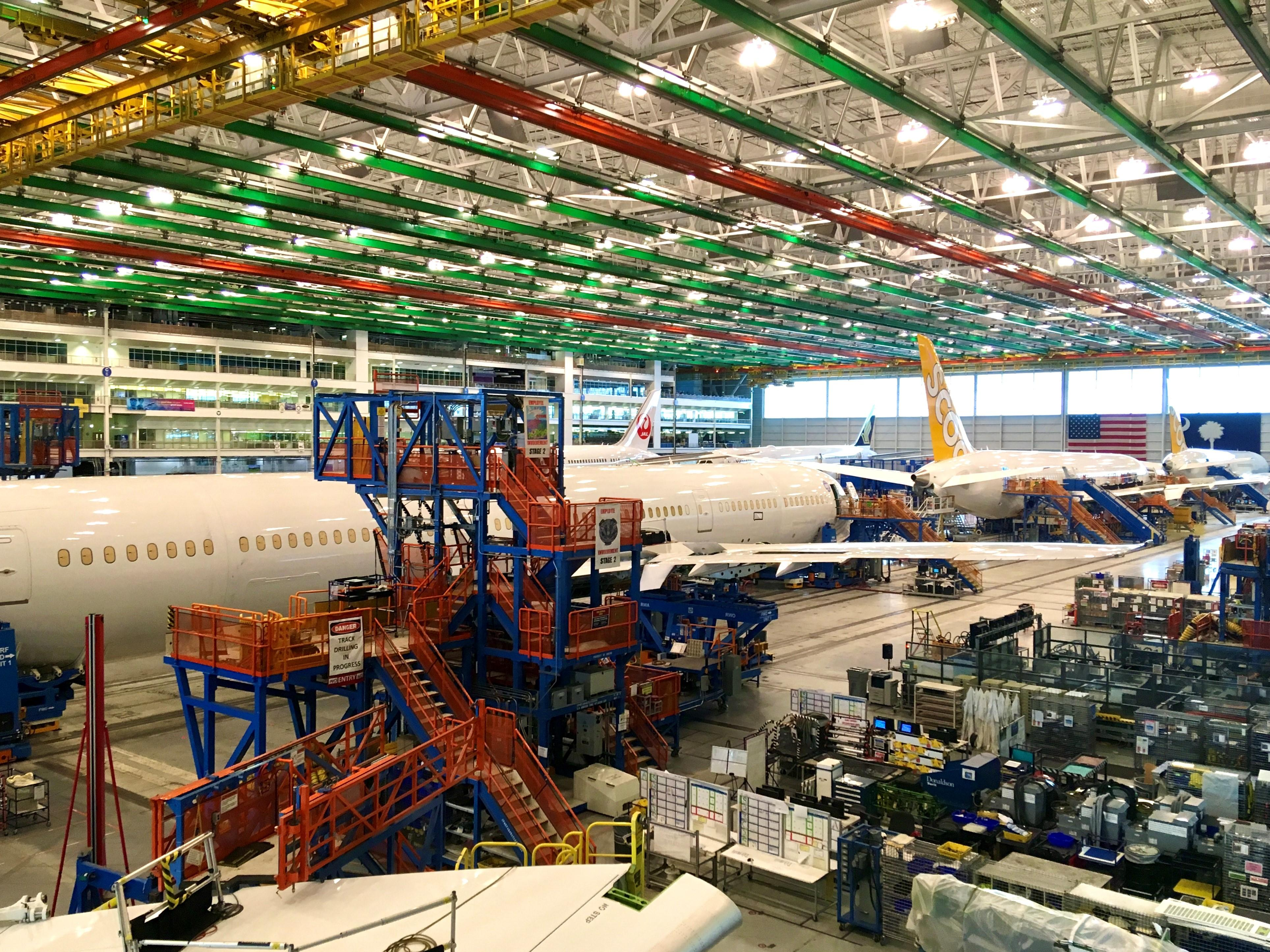Boeing Charleston production facility
