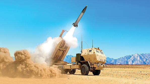 artist rendering of U.S. Army Precision Strike Missile