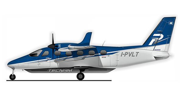 Tecnam P-Volt all-electric aircraft
