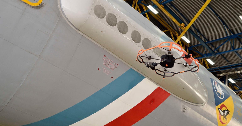 Next Steps For AFI KLM E&M Drones: Outdoor Inspections, Measuring Dent Depth