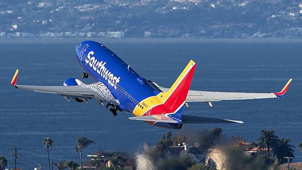 Southwest Airlines airliner