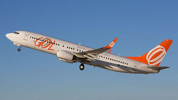 Brazil's GOL Airlines aircraft