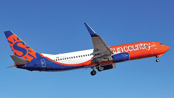 Sun Country Airlines aircraft