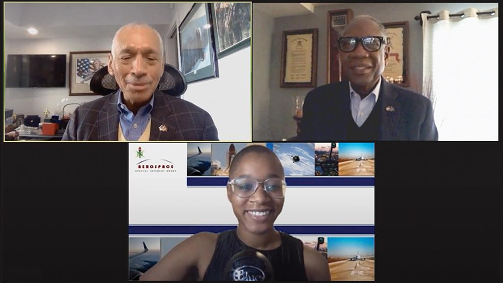 National Society of Black Engineers' Aerospace Special Interest Group webcast