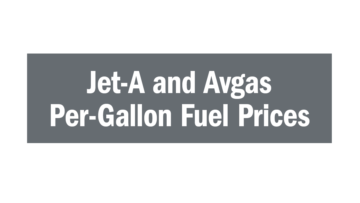 Jet-A and Avgas Fuel Prices Icon
