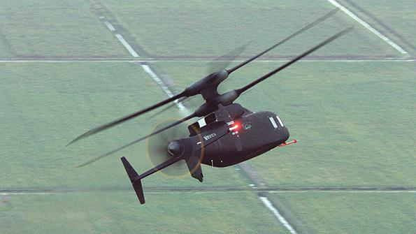 Sikorsky-Boeing's Defiant coaxial rigid-rotor compound helicopter