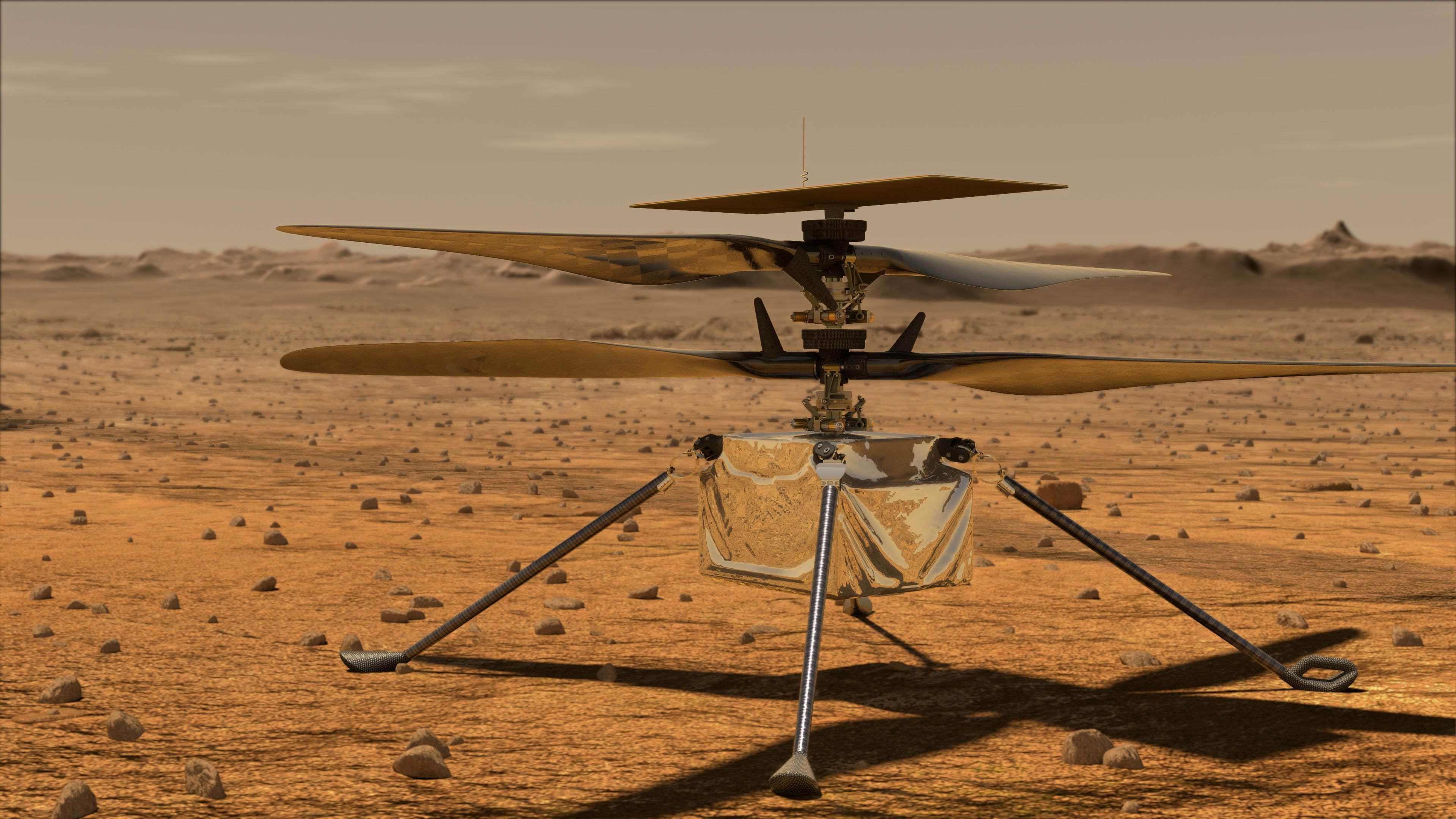 Mars Helicopter Flight Test Delayed After Rotor Checkout Issue