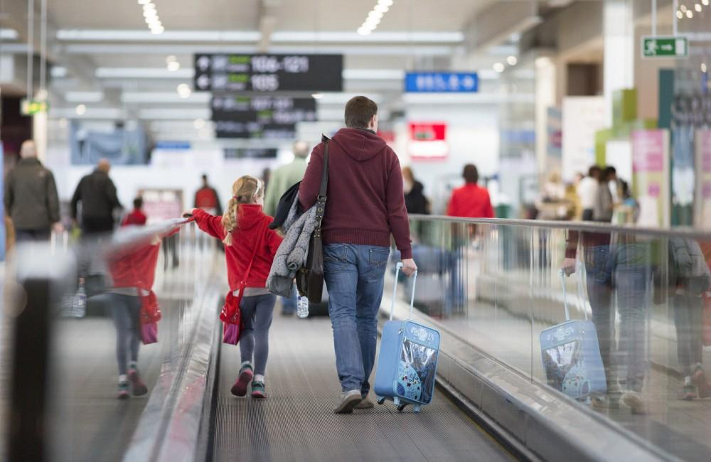 Dublin Airport travelers