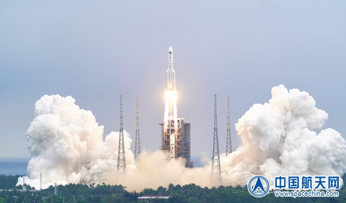 - 1 lm5b launch with tianhe c cast - China Launches Tianhe Core Module For New Space Station