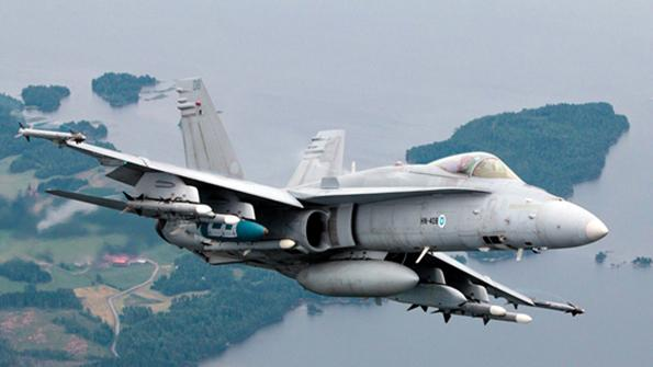 Finnish Air Force Boeing F/A-18 C/D Hornets