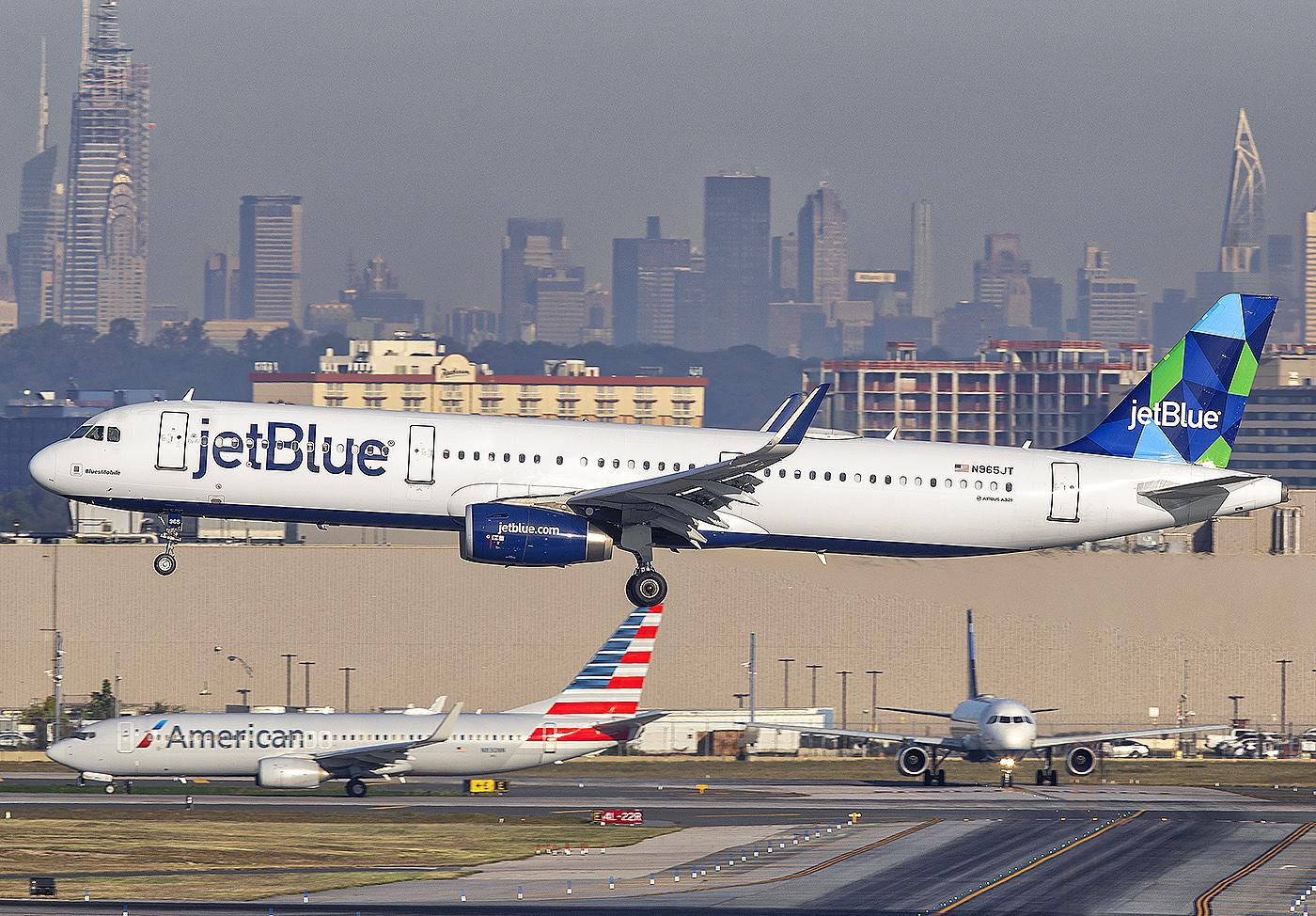 JetBlue and American Airlines