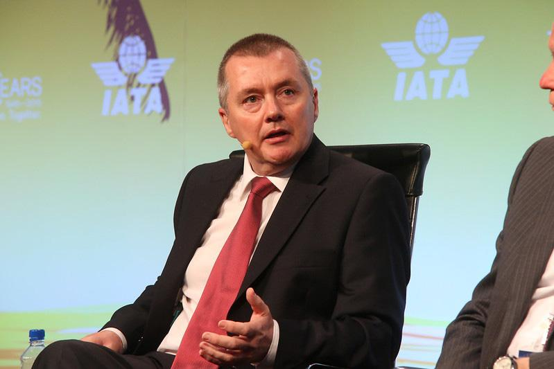 IATA director general and CEO Willie Walsh