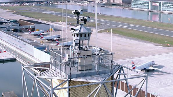 London City Airport's new digital air traffic control tower
