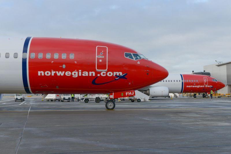 Norwegian Airlines Boeing 737-800