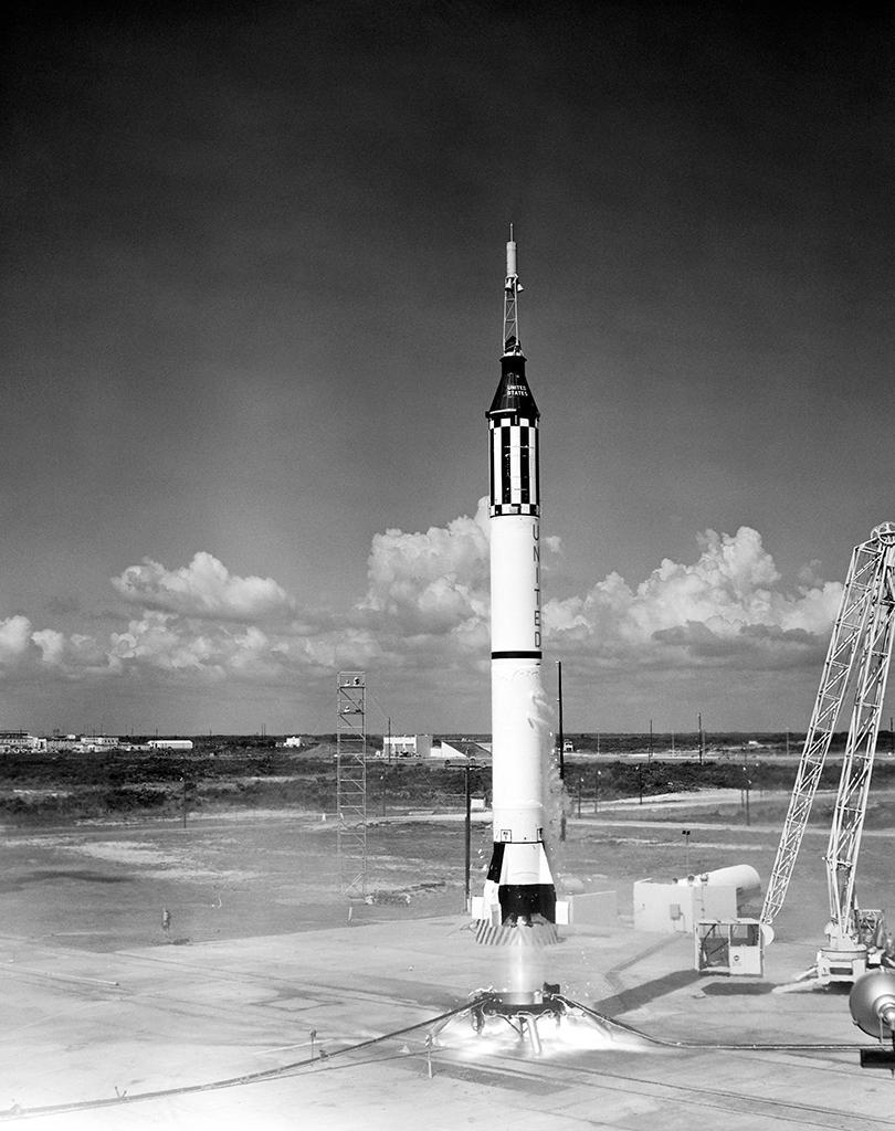 cohete para vuelo suborbital Shepard