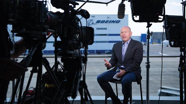 David Calhoun, Boeing President and CEO
