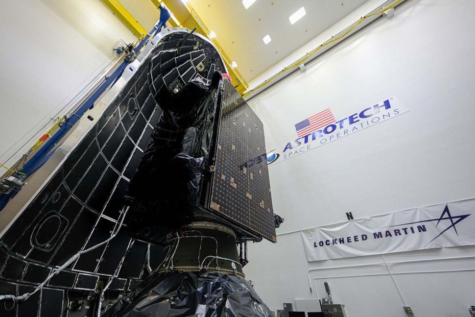 Lockheed Martin GPS-5 satellite