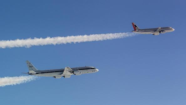 DLR-NASA Flight Tests Show SAFs Can Reduce Climate Impact Of Contrails