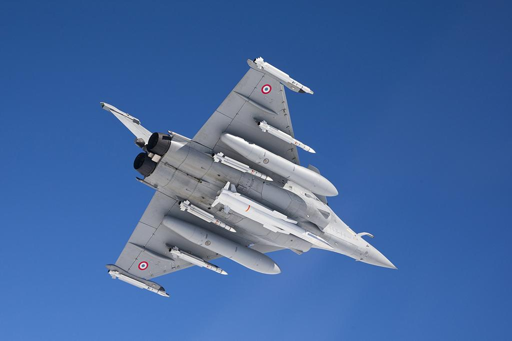 Rafale with ASMP-A nuclear-tipped missile