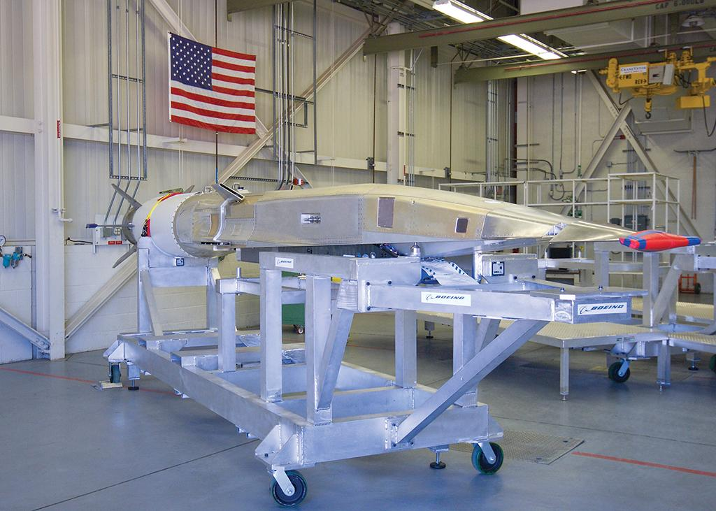 Boeing X-51 unmanned research scramjet aircraft