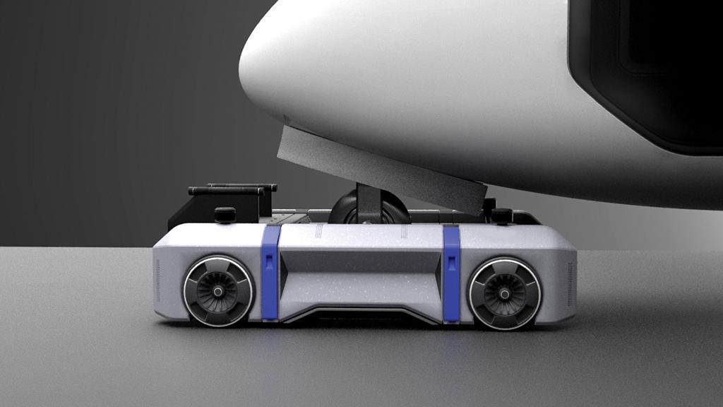 electric-powered tow tug