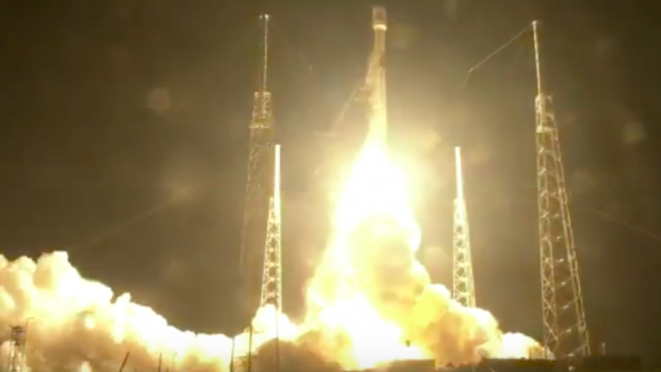 SpaceX Falcon 9 Makes Midnight Run For SES | Aviation Week Network
