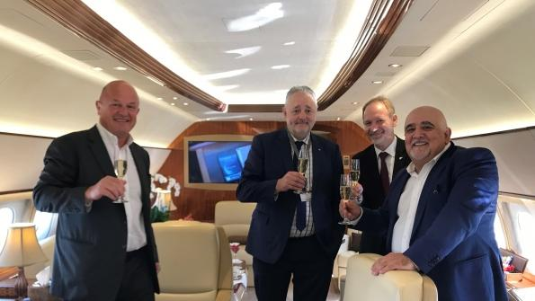 Comlux Takes World Lead in Airbus ACJneo