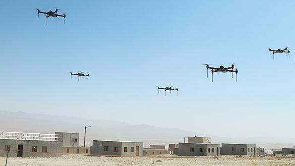DARPA's Offset Taps Fast-Moving Technology To Harness Swarming Drones