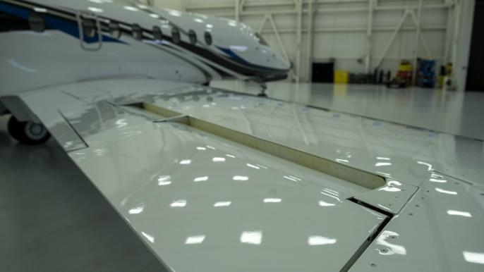 Cessna Citation Longitude ailerons